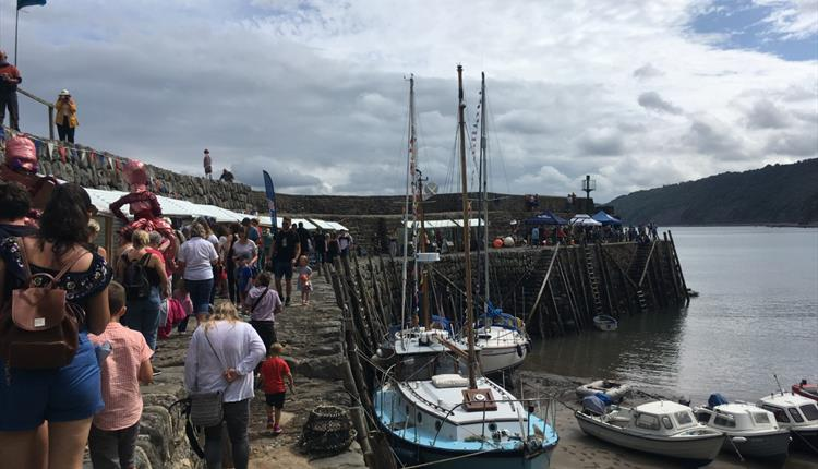 Clovelly Maritime Festival in aid of Bideford & District Sea Cadets