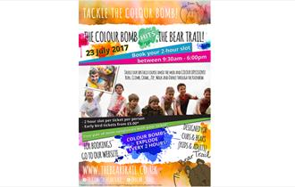 The Colour Bomb Hits The Bear Trail
