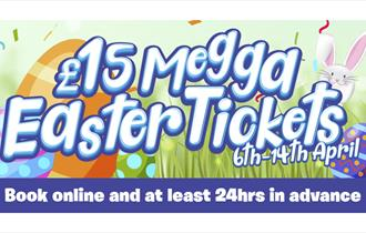 £15 Megga Easter Tickets at Crealy