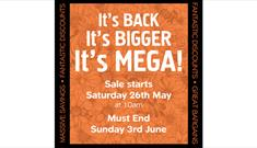 Dartington Crystal May Mega Sale