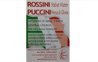 South Devon Choir sings Puccini and Rossini