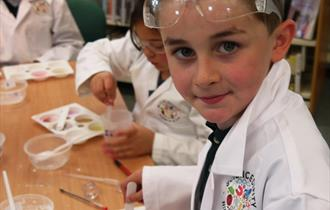 Saturday Science Club - Colourful Chemistry