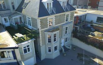 Gabriel house birds eye view
