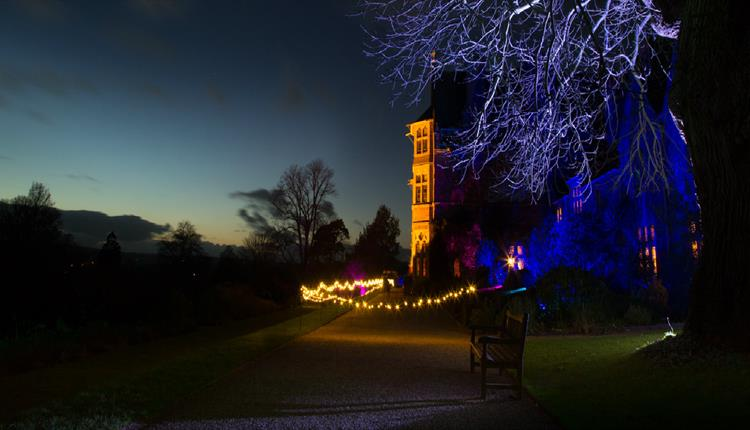 Knightshayes by Night