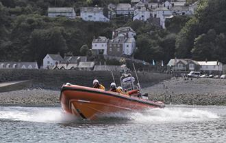 lifeboat event clovelly