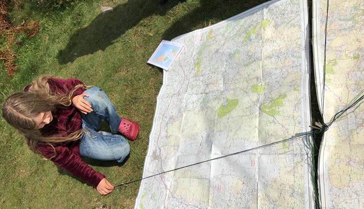Half-term Map Reading Fun for Children
