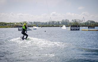 North Devon Wake Park jet ski