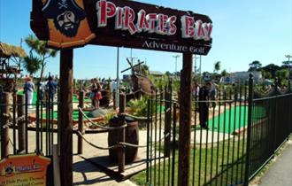 Pirates Bay Adventure Golf Paignton