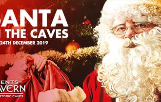 Santa in the Caves