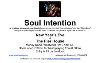 Soul Intention New Years Eve at The Pier House