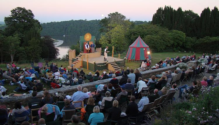 Outdoor Theatre – The Tempest, at Pentilllie Castle