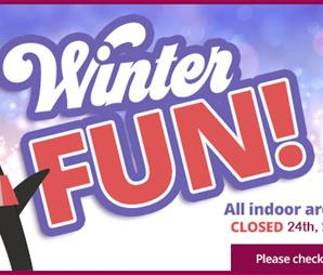 Winter Fun at Woodlands Family Theme Park