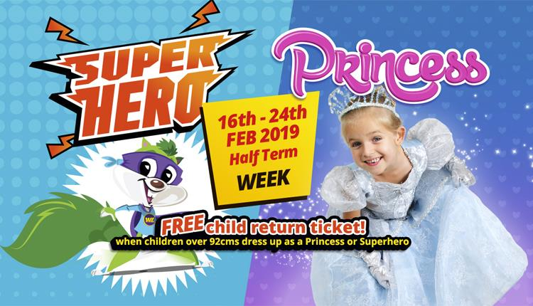 Super Hero & Princess February Half Term at Woodlands