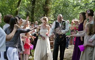 Weddings at Yurtcamp Devon